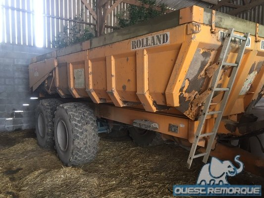 Benne agricole Rolland TP 180 - 1